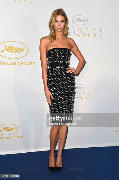 Model Karlie Kloss attends the Opening Ceremony dinner during the 68th annual Cannes Film Festival on May 13 2015 in Cannes France