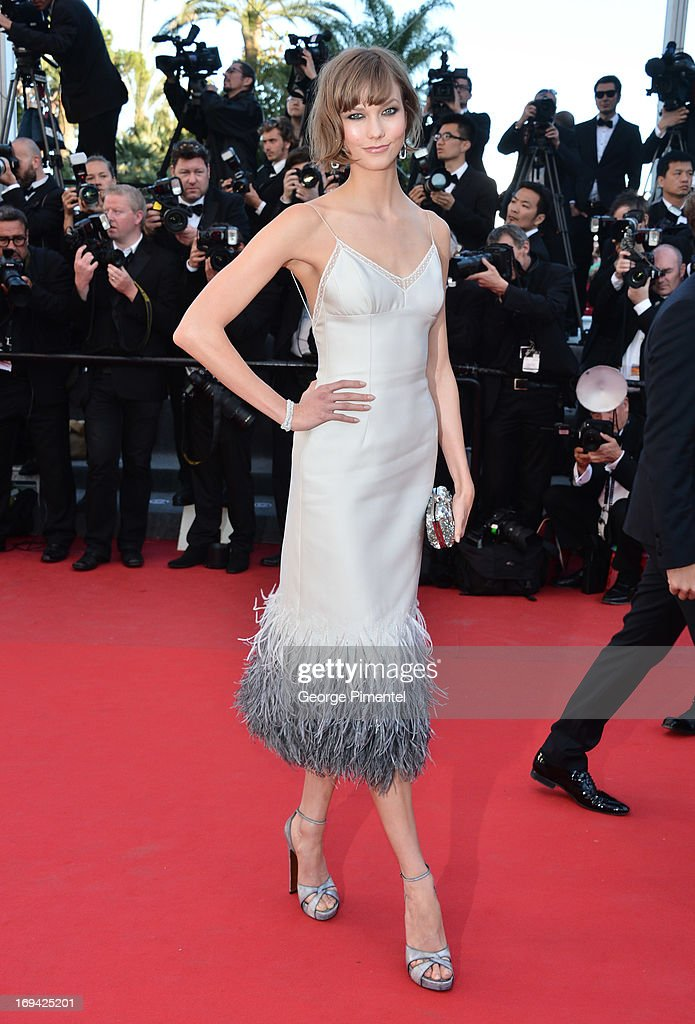 Model Karlie Kloss attends the premiere of 'The Immigrant' at The 66th Annual Cannes Film Festival on May 24, 2013 in Cannes, France.