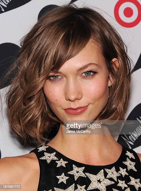 Model Karlie Kloss attends the Target Neiman Marcus Holiday Collection launch event on November 28 2012 in New York City