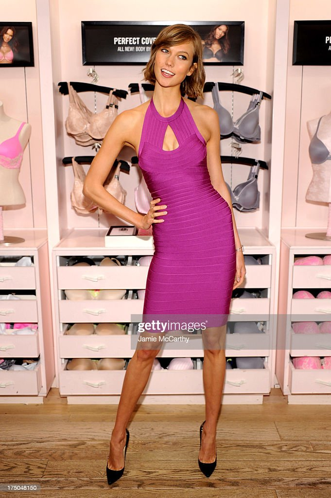 Model Karlie Kloss attends Victoria's Secret Celebrates Body By Victoria on July 30, 2013 at Victoria's Secret Soho in New York City.