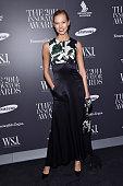 Model Karlie Kloss attends WSJ Magazine 2014 Innovator Awards at Museum of Modern Art on November 5 2014 in New York City