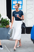 Model Karlie Kloss is seen in Chelsea on July 7 2016 in New York City