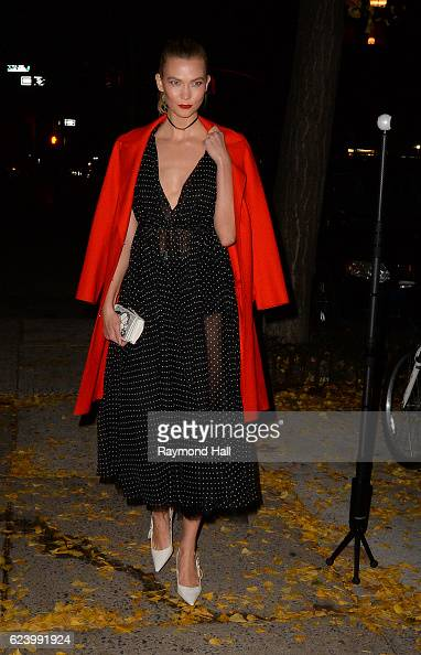 Model Karlie Kloss is seen in Soho on November 17 2016 in New York City