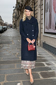 Celebrity Sightings - Paris Fashion Week - Menswear F/W...
