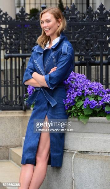 Model Karlie Kloss is seen on May 1 2017 in New York City