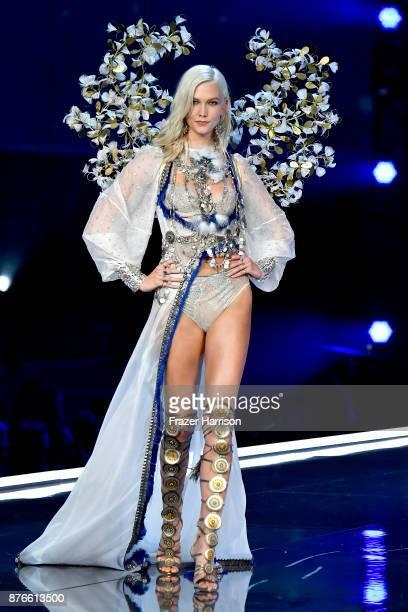 Model Karlie Kloss walks the runway during the 2017 Victoria's Secret Fashion Show In Shanghai at MercedesBenz Arena on November 20 2017 in Shanghai...