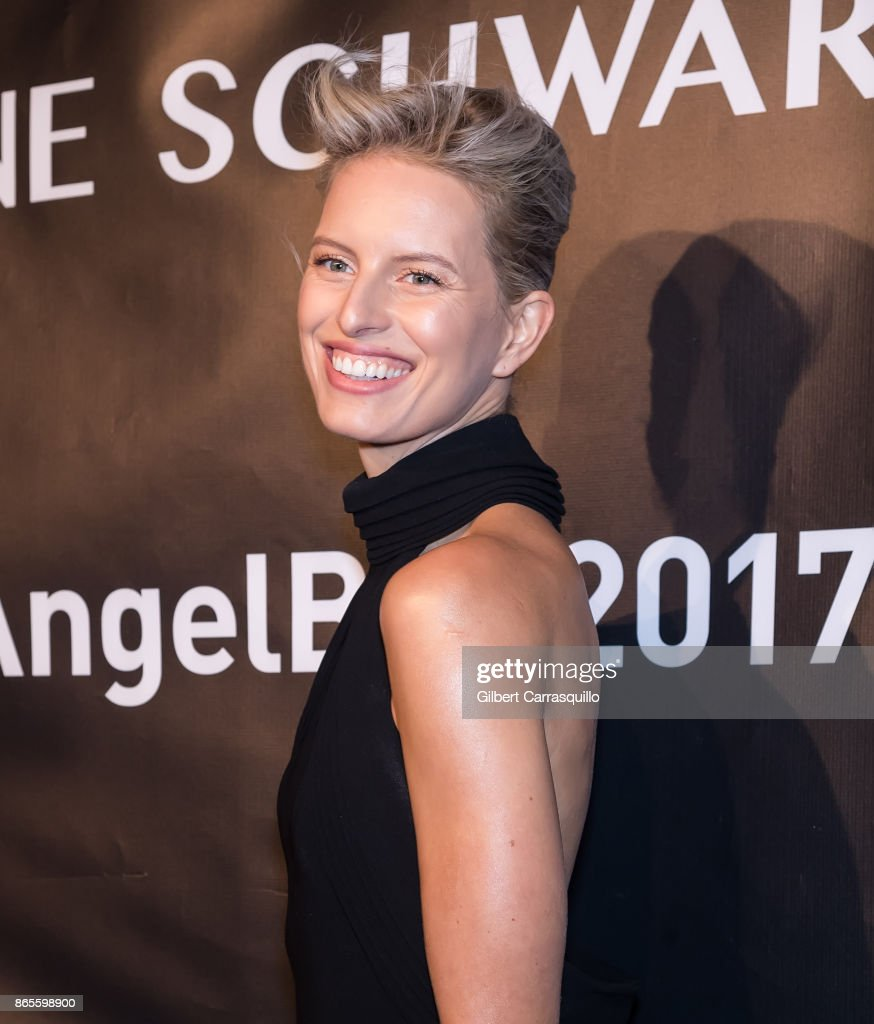 Model Karolina Kurkova arrives at Gabrielle's Angel Foundation's Angel Ball 2017 at Cipriani Wall Street on October 23, 2017 in New York City.