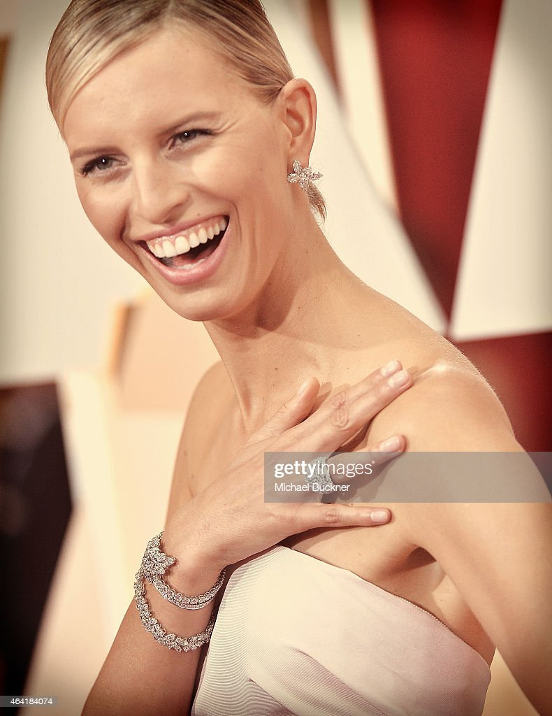 Model Karolina Kurkova arrives at the 87th Annual Academy Awards at Hollywood Highland Center on February 22 2015 in Hollywood California
