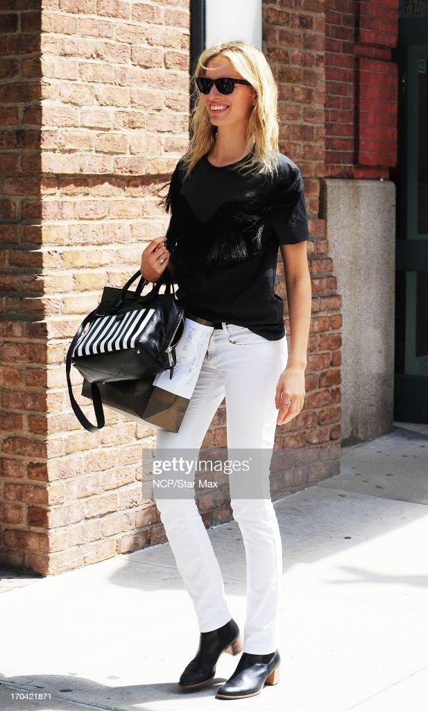 Model <a gi-track='captionPersonalityLinkClicked' href=/galleries/search?phrase=Karolina+Kurkova&family=editorial&specificpeople=202513 ng-click='$event.stopPropagation()'>Karolina Kurkova</a> as seen on June 12, 2013 in New York City.