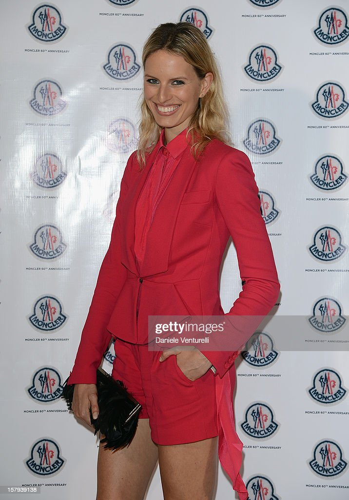Model Karolina Kurkova attend a private dinner celebrating Remo Ruffini and Moncler's 60th Anniversary during Art Basel Miami Beach on December 7, 2012 in Miami Beach, Florida.