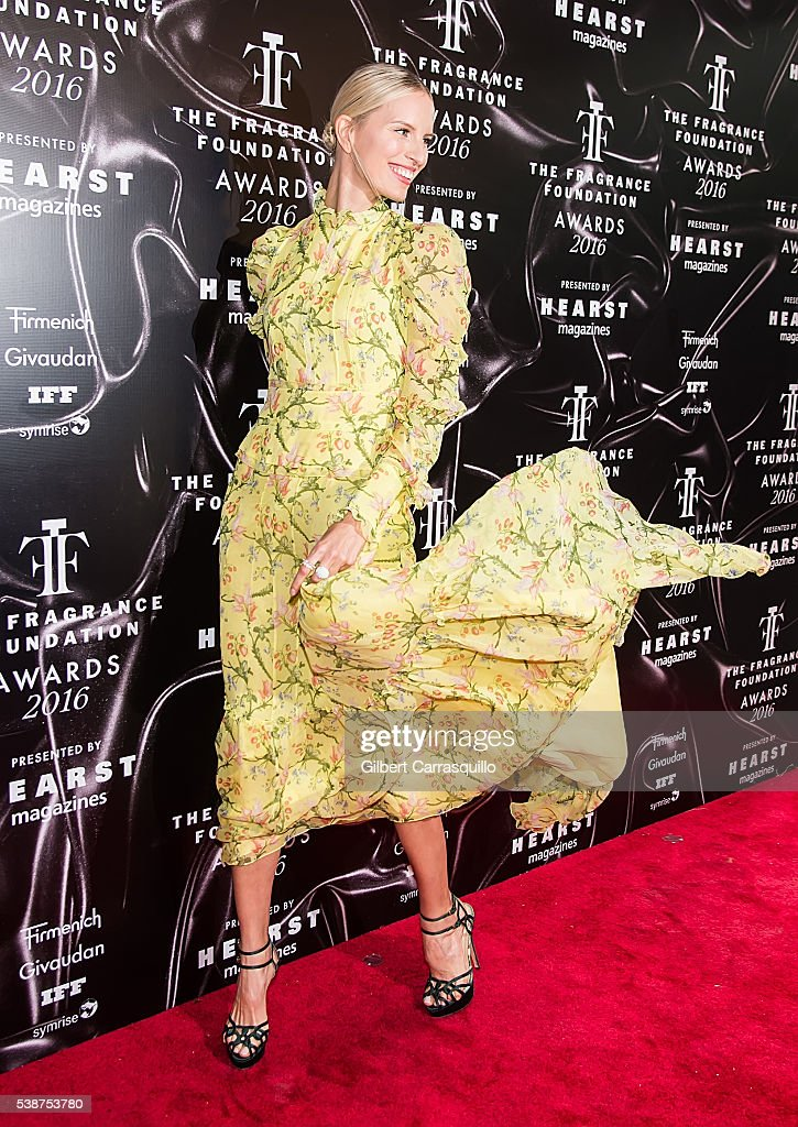 Model Karolina Kurkova attends 2016 Fragrance Foundation Awards at Alice Tully Hall at Lincoln Center on June 7 2016 in New York City