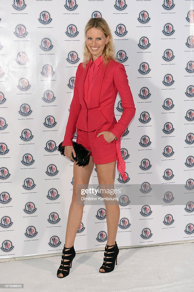Model Karolina Kurkova attends a private dinner celebrating Remo Ruffini and Moncler's 60th Anniversary during Art Basel Miami Beach on December 7, 2012 in Miami Beach, Florida.