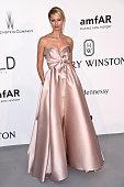 Model Karolina Kurkova attends amfAR's 22nd Cinema Against AIDS Gala Presented By Bold Films And Harry Winston at Hotel du CapEdenRoc on May 21 2015...