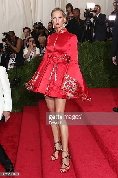 Model Karolina Kurkova attends 'China Through the Looking Glass' the 2015 Costume Institute Gala at Metropolitan Museum of Art on May 4 2015 in New...