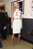 Model Karolina Kurkova attends Fashion Rocks 2014 presented by Three Lions Entertainment at the Barclays Center of Brooklyn on September 9 2014 in...