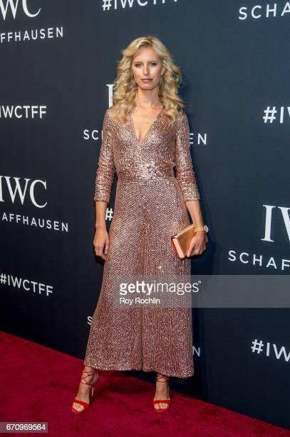 Model Karolina Kurkova attends 'For The Love Of Cinema' Gala Dinner at Spring Studios on April 20 2017 in New York City
