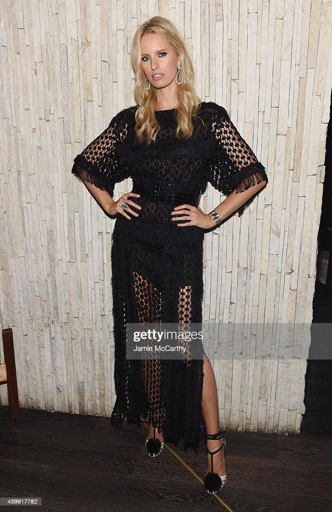 Model Karolina Kurkova attends IWC Schaffhausen celebrates 'Timeless Portofino' Gala Event during Art Basel Miami Beach to mark the Launch of the new...