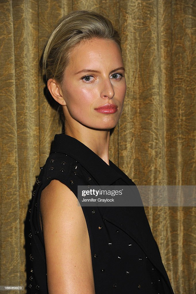 Model <a gi-track='captionPersonalityLinkClicked' href=/galleries/search?phrase=Karolina+Kurkova&family=editorial&specificpeople=202513 ng-click='$event.stopPropagation()'>Karolina Kurkova</a> attends Moda Operandi and St. Regis Hotels & Resorts event 'A Midnight Supper' to celebrate the launch of the exclusive Punk Collection on preview at The St Regis New York on May 4, 2013 in New York City.