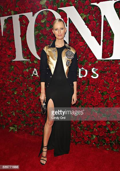Model Karolina Kurkova attends the 70th Annual Tony Awards at The Beacon Theatre on June 12 2016 in New York City