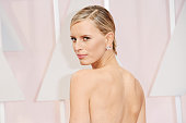 Model Karolina Kurkova attends the 87th Annual Academy Awards at Hollywood Highland Center on February 22 2015 in Hollywood California