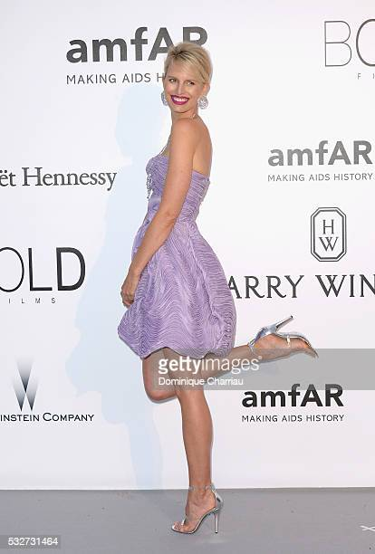 Model Karolina Kurkova attends the amfAR's 23rd Cinema Against AIDS Gala at Hotel du CapEdenRoc on May 19 2016 in Cap d'Antibes France