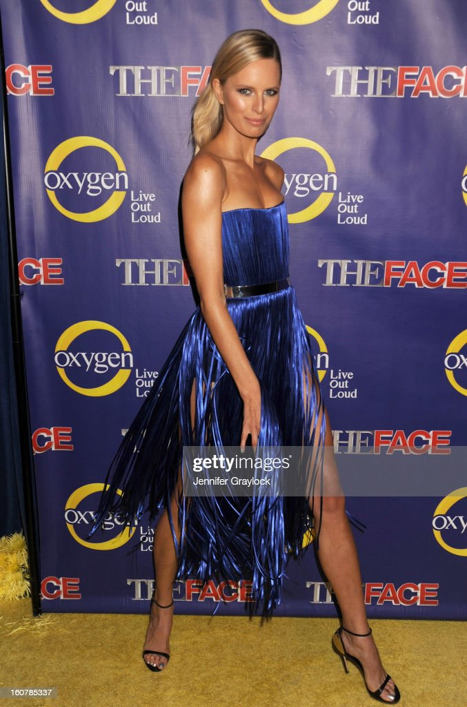 Model <a gi-track='captionPersonalityLinkClicked' href=/galleries/search?phrase=Karolina+Kurkova&family=editorial&specificpeople=202513 ng-click='$event.stopPropagation()'>Karolina Kurkova</a> attends 'The Face' Series Premiere at Marquee New York on February 5, 2013 in New York City.
