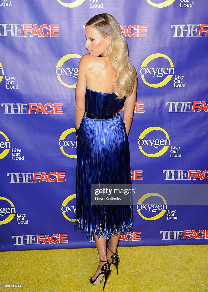 Model Karolina Kurkova attends 'The Face' Series Premiere at Marquee New York on February 5, 2013 in New York City.