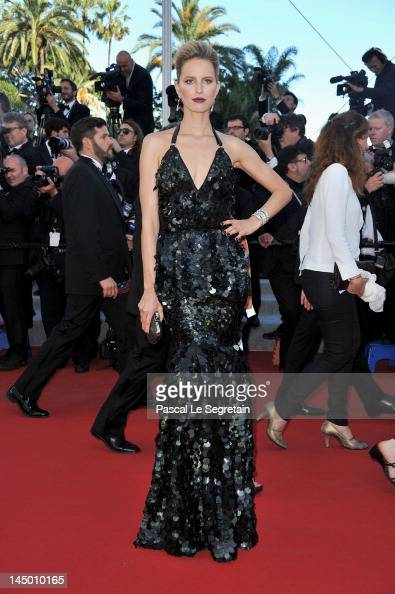 Model Karolina Kurkova attends the 'Killing Them Softly' Premiere during 65th Annual Cannes Film Festival at Palais des Festivals on May 22 2012 in...