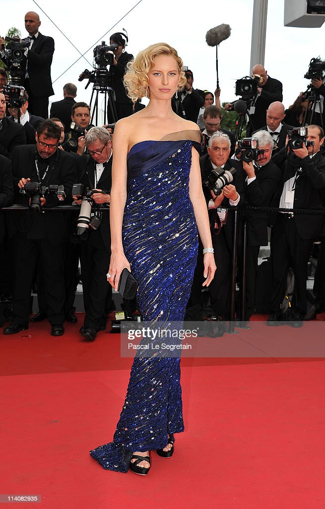 Model Karolina Kurkova attends the Opening Ceremony at the Palais des Festivals during the 64th Cannes Film Festival on May 11, 2011 in Cannes, France.