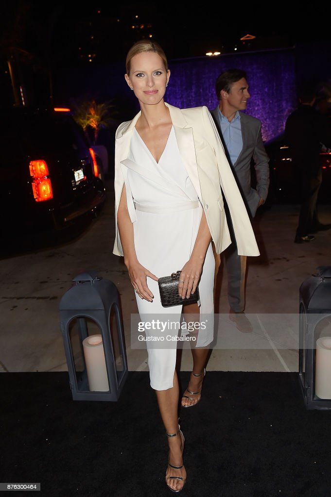 Model Karolina Kurkova attends the private opening celebration of RH West Palm on November 18, 2017 in West Palm Beach, Florida.