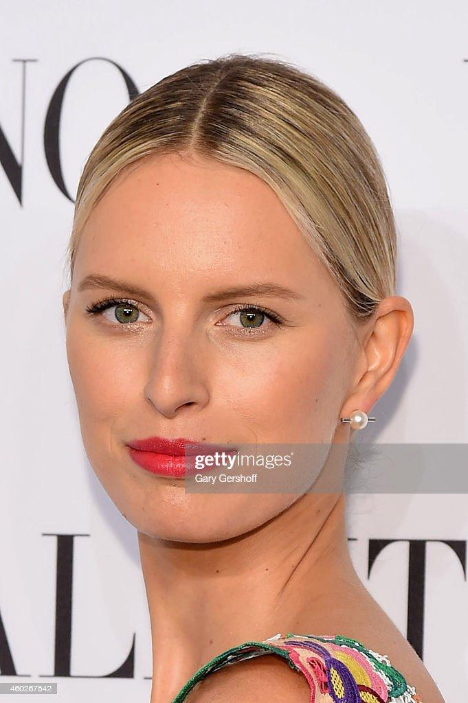 Model Karolina Kurkova attends the Valentino Sala Bianca 945 Event on December 10 2014 in New York City