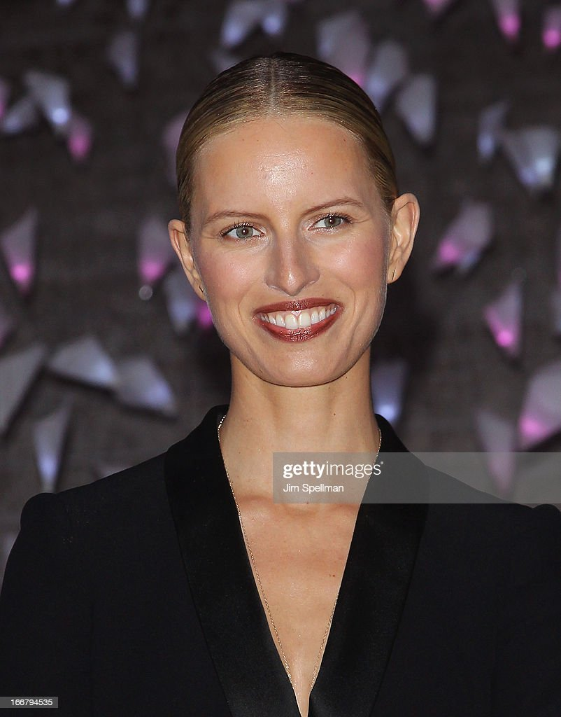 Model Karolina Kurkova attends the Vanity Fair Party during the 2013 Tribeca Film Festival at the State Supreme Courthouse on April 16, 2013 in New York City.