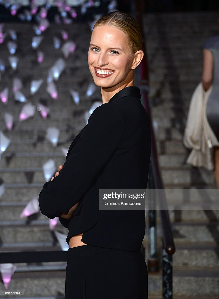 Model Karolina Kurkova attends Vanity Fair Party for the 2013 Tribeca Film Festival on April 16, 2013 in New York City.