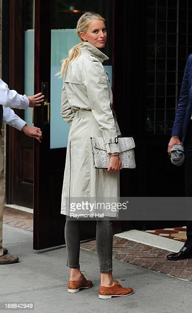 Model Karolina Kurkova is seen in Soho on May 15 2013 in New York City