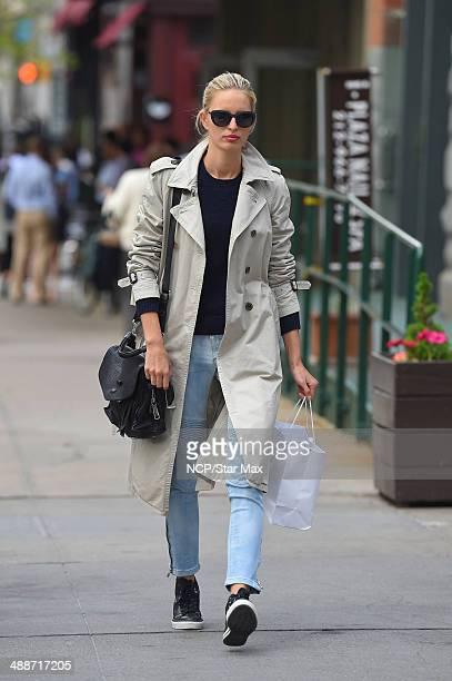 Model Karolina Kurkova is seen on May 7 2014 in New York City