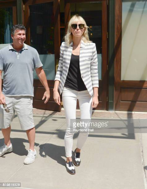 Model Karolina Kurkova is seen walking in Soho on July 20 2017 in New York City