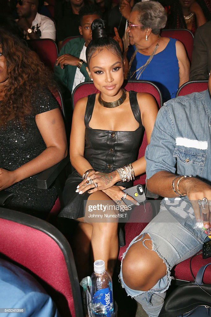 Model <a gi-track='captionPersonalityLinkClicked' href=/galleries/search?phrase=Karrueche+Tran&family=editorial&specificpeople=9447374 ng-click='$event.stopPropagation()'>Karrueche Tran</a> attends the 2016 BET Awards at the Microsoft Theater on June 26, 2016 in Los Angeles, California.
