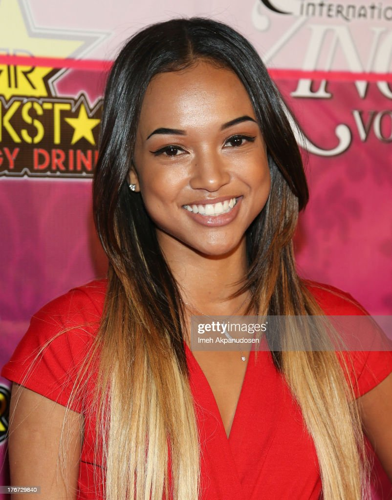 Model <a gi-track='captionPersonalityLinkClicked' href=/galleries/search?phrase=Karrueche+Tran&family=editorial&specificpeople=9447374 ng-click='$event.stopPropagation()'>Karrueche Tran</a> attends the 8th Annual Kandyland - An Evening Of Decadent Dreams on August 17, 2013 in Beverly Hills, California.