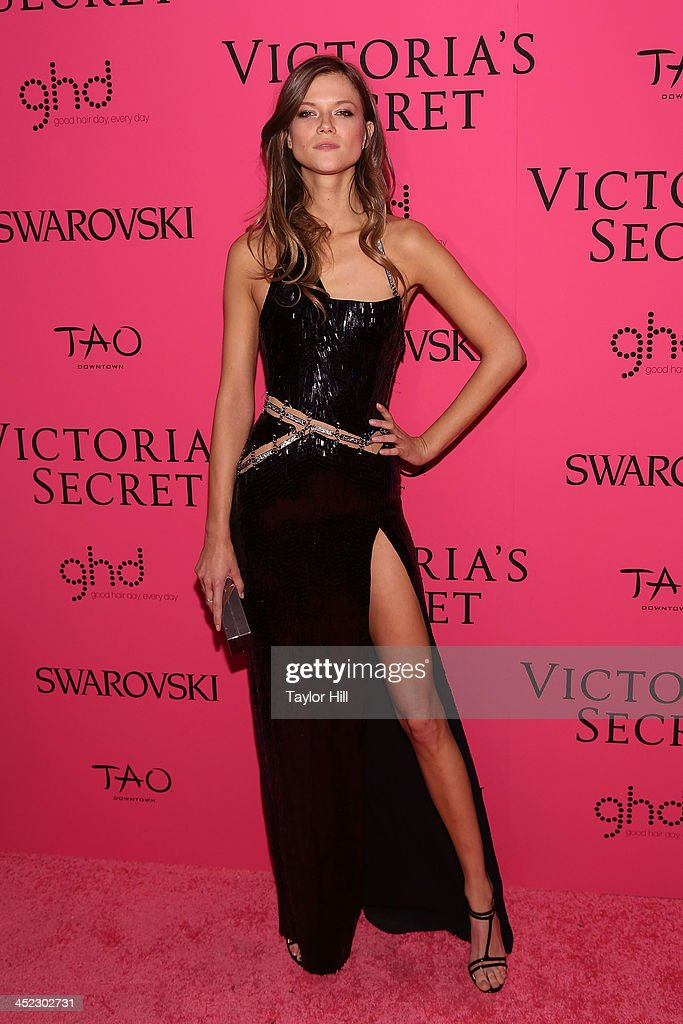 Model Kasia Struss attends the after party for the 2013 Victoria's Secret Fashion Show at Lavo NYC on November 13, 2013 in New York City.