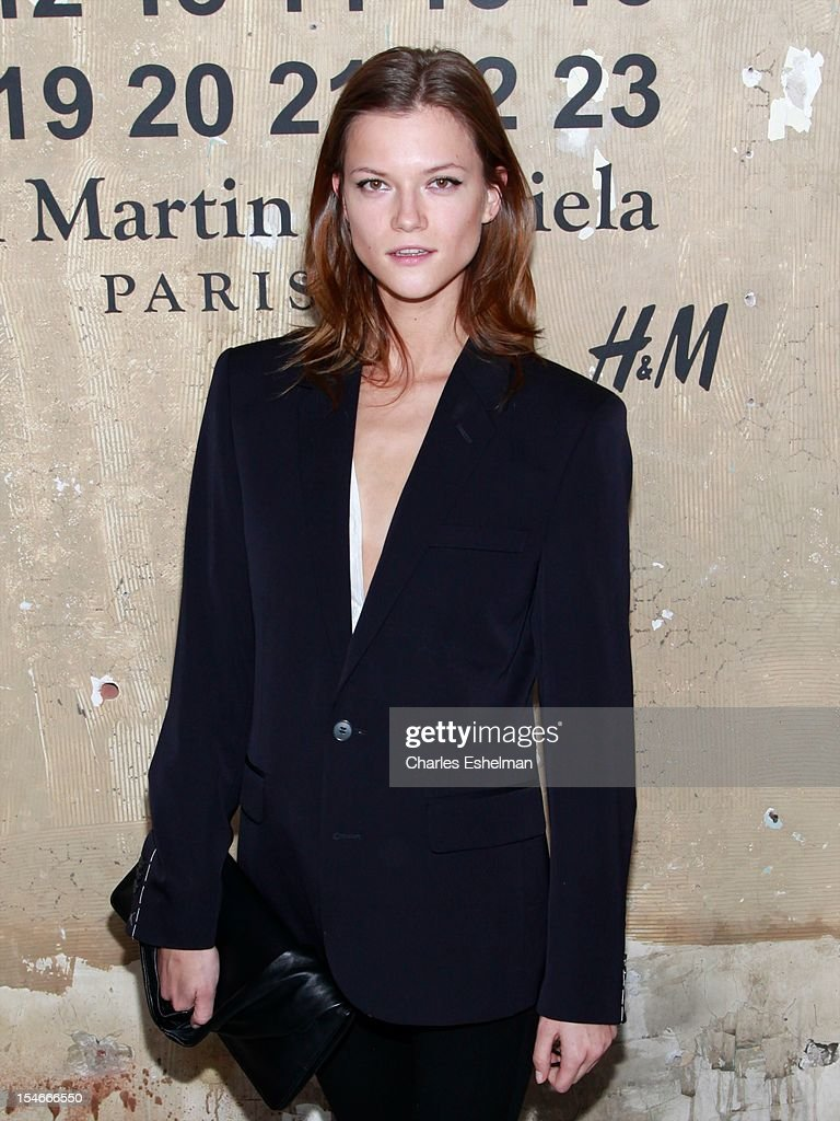 Model Kasia Struss attends the Maison Martin Margiela & H&M Global launch party at 5 Beekman on October 23, 2012 in New York City.