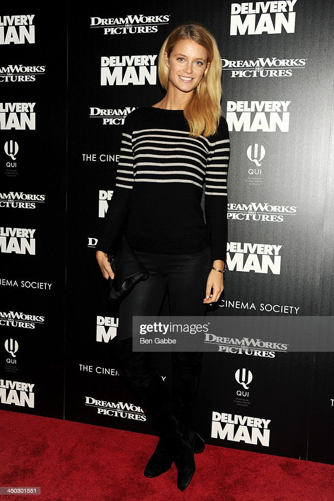 Model <a gi-track='captionPersonalityLinkClicked' href=/galleries/search?phrase=Kate+Bock&family=editorial&specificpeople=5088909 ng-click='$event.stopPropagation()'>Kate Bock</a> attends DreamWorks Pictures & The Cinema Society host a screening of 'Delivery Man' at the Paley Center For Media on November 17, 2013 in New York City.