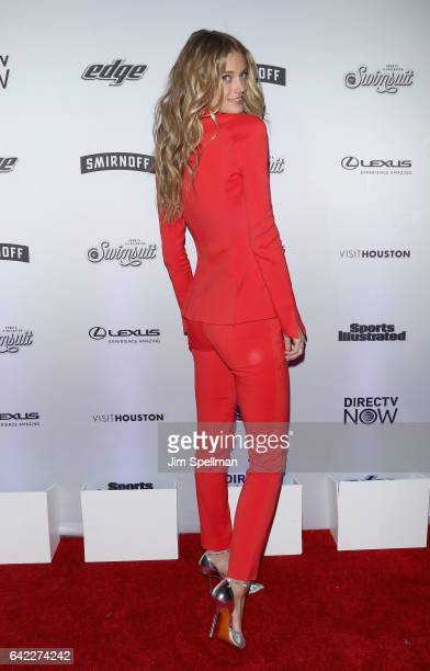 Model Kate Bock attends the Sports Illustrated Swimsuit 2017 launch event at Center415 Event Space on February 16 2017 in New York City