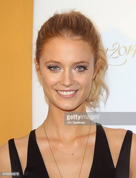 Model Kate Bock attends the Sports Illustrated Swimsuit 50th Anniversary Party at Swimsuit Beach House on February 18 2014 in New York City