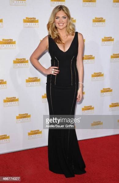 Model Kate Upton arrives at NBC And Time Inc Celebrate 50th Anniversary Of Sports Illustrated Swimsuit Issue at Dolby Theatre on January 14 2014 in...