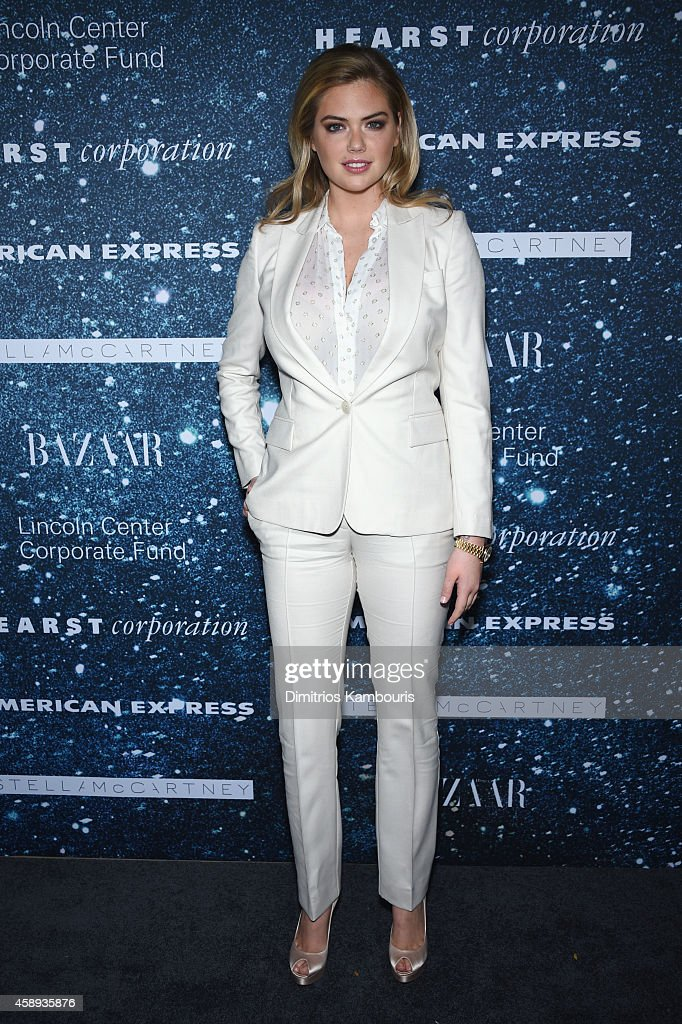 Model Kate Upton attends 2014 Women's Leadership Award Honoring Stella McCartney at Alice Tully Hall at Lincoln Center on November 13, 2014 in New York City.