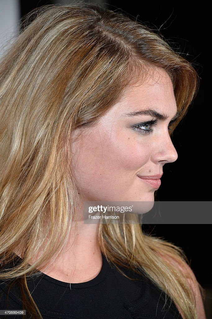 Model Kate Upton attends Club SI Swimsuit at LIV Nightclub hosted by Sports Illustrated at Fontainebleau Miami on February 19, 2014 in Miami Beach, Florida.