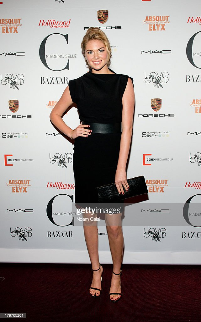 Model <a gi-track='captionPersonalityLinkClicked' href=/galleries/search?phrase=Kate+Upton&family=editorial&specificpeople=7488546 ng-click='$event.stopPropagation()'>Kate Upton</a> attends 'Mademoiselle C' New York Premiere at Florence Gould Hall on September 6, 2013 in New York City.