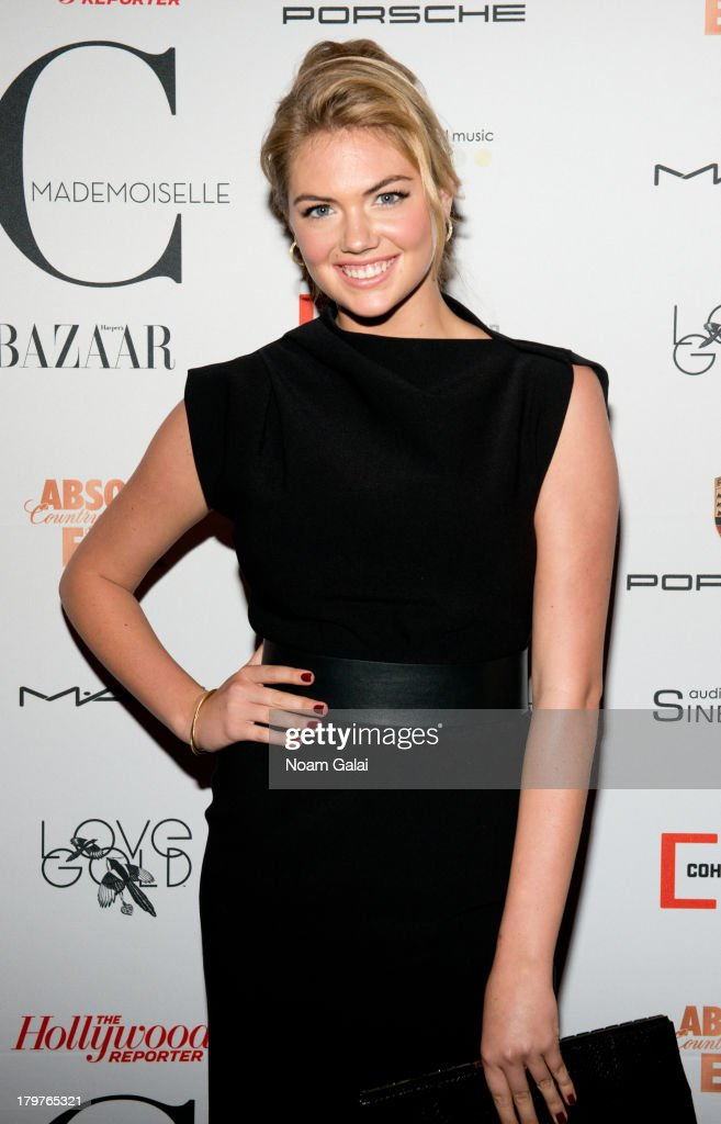 Model Kate Upton attends 'Mademoiselle C' New York Premiere at Florence Gould Hall on September 6, 2013 in New York City.