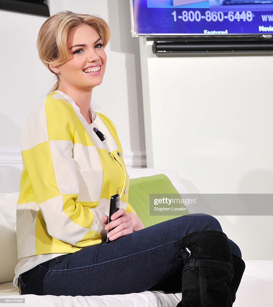 Model <a gi-track='captionPersonalityLinkClicked' href=/galleries/search?phrase=Kate+Upton&family=editorial&specificpeople=7488546 ng-click='$event.stopPropagation()'>Kate Upton</a> attends Samsung's 2013 Television Line Launch Event at Museum Of American Finance on March 20, 2013 in New York City.
