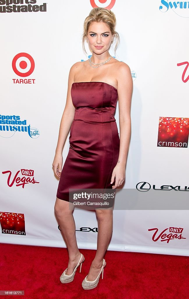 Model <a gi-track='captionPersonalityLinkClicked' href=/galleries/search?phrase=Kate+Upton&family=editorial&specificpeople=7488546 ng-click='$event.stopPropagation()'>Kate Upton</a> attends Sports Illustrated Swimsuit Launch Party at Crimson on February 12, 2013 in New York City.